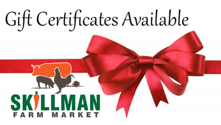 skillman farm market and butcher shop gift certificate