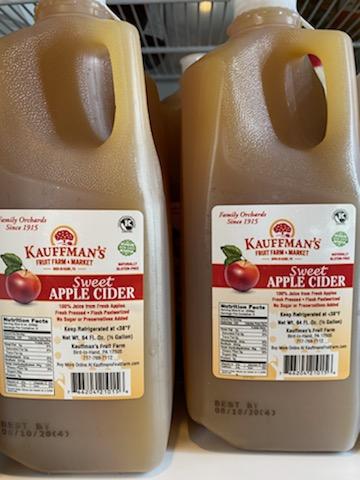 Kauffman's Apple Cider