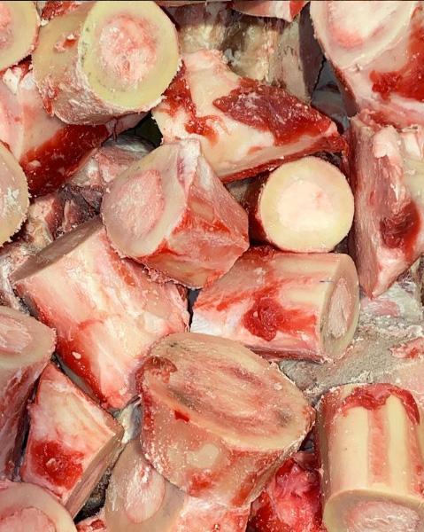 100% grass-fed beef marrow bones
