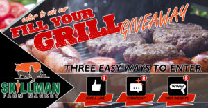 Fill Your Grill Giveaway from Skillman Farm Market and Butcher Shop